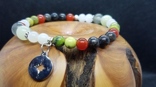 Bracelet sur le thème de l'Endométriose