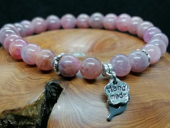 Bracelet en Rubellite ou tourmaline rose